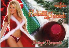 2006 BENCHWARMER HOLIDAY BRIDGET MARQUARDT HOLIDAY SWATCH