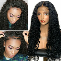 Deep Curly 4*4 Silk Top Full Lace Wig 360 Lace Front Wig 8A Brazilian Human Hair