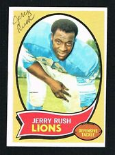 Jerry Rush signed autograph auto 1970 Topps Football Trading Card #32