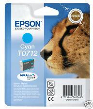 Epson T0712 5.5ml Cyan - Cartouches D'encre