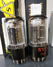 (2) MATCHED Sylvania NOS 6SN7 GTB 6SN7GTB Tubes - Amplitrex AT1000 Matched