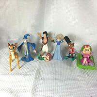 Lot of Mixed McDonald's HAPPY MEAL Toys Disney aladdin Sword Stone Bambi Piggy