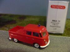 1/87 Wiking VW T1 Doka Feuerwehr 0861 28