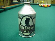 Old Topper Ale Beer Cone Crown Top Beer Can