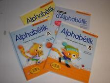 4-book set - 2e année du primaire ALPHABÉTIK ALPHABETIK Pearson ERPI French NEW