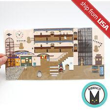 Japan Studio Ghibli Museum Mitaka Limited Pop up Card Postcard Interior Diorama