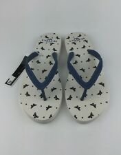 Coach Cleo Womens Blue White Black Flip Flops Sandals Sz US 11 EU 41.5
