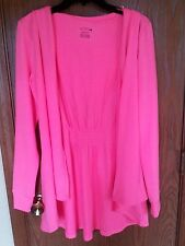 La Senza Hot Pink Evening Robe with Hoodie - Sexy Sleepwear Lingerie NWT NEW