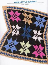24 Crocheted Baby Patterns Blanket Throw made w hook & yarn Crochet Pattern Book