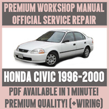 >WORKSHOP MANUAL SERVICE & REPAIR GUIDE for HONDA CIVIC 1996-2000 +WIRING