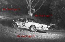 Harold Morley & Bob Lindquist Porsche Carrera RS Welsh Rally 1973 Photograph 1