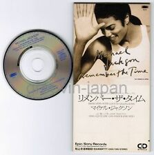 """MICHAEL JACKSON Remember The Time JAPAN 3""""CD ESDA-7086 UNSNAPPED&UNFOLDED"""