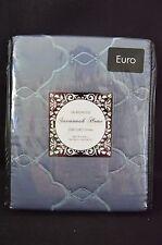 Savannah Home LAURELWOOD  Euro Pillow Sham Blue  26 x 26