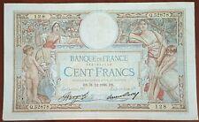 Billet 100 francs LUC OLIVIER MERSON 31 = 12 = 1936 FRANCE  Q.52878