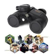 7x50 HD Binocular Fernglas Nachtsicht Wasserdicht mit Entfernungsmesser Kompass