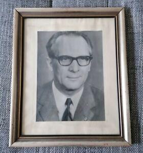 DDR Wandbild Erich Honecker Bild Politik Gemälde SED Partei Sozialismus