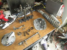1981 - 1982 Yamaha IT465 Shock Triple Tree Brake Hub Cylinder Head Etc Parts Lot