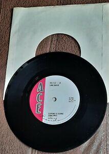 "LINK DAVIS SLIPPIN & SLIDING SOMETIMES 1957 7"" SINGLE ACE CAJUN COUNTRY"