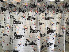 """NEW NFL Pittsburgh Steelers Football Sports Valance Curtain 54"""" W x 13""""L"""