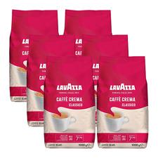 Lavazza Caffè Crema classico, 1000g ganze Bohne 6er Pack