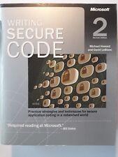 Writing secure code 2nd ed (M Howard and D Leblanc)