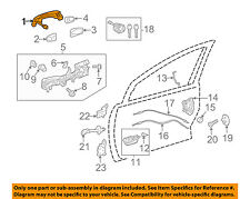 TOYOTA OEM 12-16 Camry-Outside Exterior Door Handle 6921006110A0