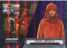 Star Wars Evolution 2016 Purple Parallel Card #14 Padme Amidala - Handmaiden Di
