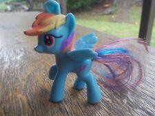 My Little Pony Rainbow Dash G4 pegasus pony McDonalds Happy Meal 2012 7.5cm