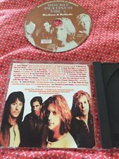 Bon Jovi Collectors Rare Cd Live Tracks Rockers & Ballads USA Paris Japan