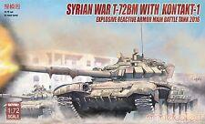 Modelcollect UA72082 1/72 Syrian War T-72BM with Kontakt-1 explosive receiver