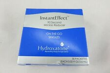 HYDROXATONE INSTANT EFFECTS ON THE GO SINGLES WRINKLE REDUCER SEALED 30 PACK