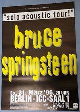 Bruce   Springsteen    Tourplakat   31.3.1996      Berlin