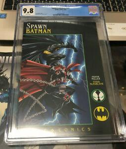 Spawn Batman Graphic Novel CGC 9.8 NM/M 🔥🔥 Todd McFarlane 🔥 🔥 Miller