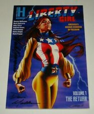 Liberty Girl #1 Heroic Publishing Books Signed 2x 2007