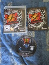 PS3 : GUITAR HERO : WARRIORS OF ROCK  - Completo, ITA ! Crea la tua band !