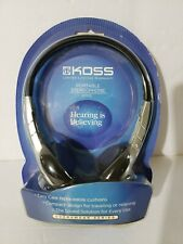 Koss KPH5 Portable Stereophone Headphones, New in Package, Free Shipping