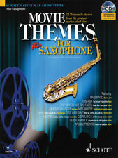 Movie Themes Alto Sax Solo Sheet Music Saxophone Play-Along Book CD Pack NEW