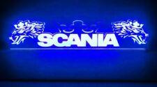 24V Cabin Innenleuchte LED Platte für Scania Crown Griffins Schild (blau 500mm)
