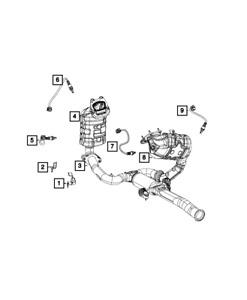 Genuine MOPAR Oxygen Sensor 5149180AA