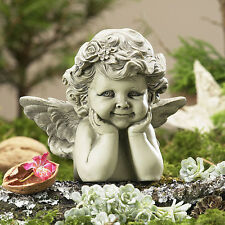 Engel Rosala Engelsfigur Putte Dekofigur