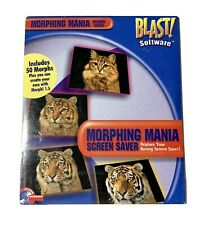 Vintage Software Morphing Mania Screen Saver 50Morphs/Create Your Own 95/98/ME