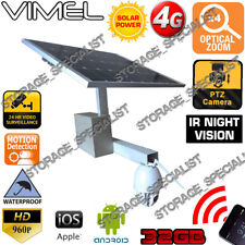 4G Security Camera Farm Home Solar Wireless GSM Alarm Remote View  Phone 3G
