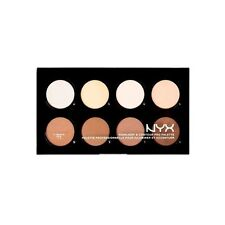NYX Highlight & Contour Pro Palette Powders Hcpp01 Refillable 8 Shades