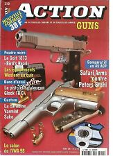 "ACTION  GUNS N°210 COT 1873 ""BIRD'S HEAD"" / GLOCK 18C / CARABINE VARMINT SAKO"