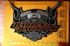 Harley Davidson big v Twin Engine Patch Rare Find !