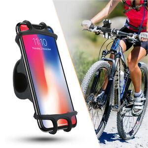 Bicycle Phone Holder Bike Handlebar Mount Stand GPS Bracket For iPhone Samsung