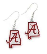 ALABAMA - STATE DESIGN LOGO - DANGLE EARRINGS - BRAND NEW NCAA - CCP-ER-469-11