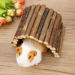 Wooden Bridge Hamster Climb Toys Small Animal House Accessories for Hamster MiMB