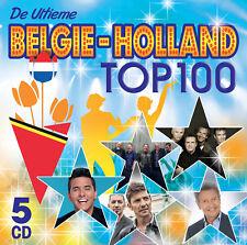 CD-BOX DE ULTIEME BELGIE - HOLLAND TOP 100 (5cd-BOX * NIEUW & GESEALED)
