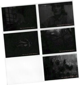 """The Blair Witch Project Movie - 5 Card """"Foil"""" Chase Set 1of5 - 5of5 - Topps 1999"""